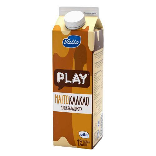 VALIO PLAY MAITOKAAKAOJUOMA LAKTON 1L