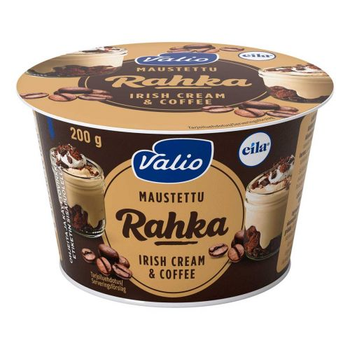 VALIO MAUSTETTU RAHKA IRISH CREAM & COFFEE LAKTON 200 G