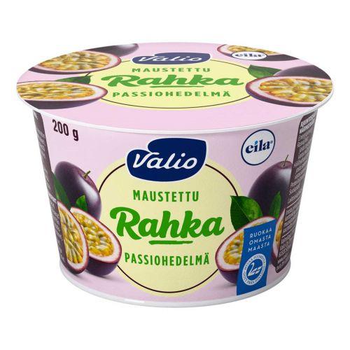 VALIO MAUSTETTU RAHKA PASSIOHEDELMÄ LAKTON 200 G