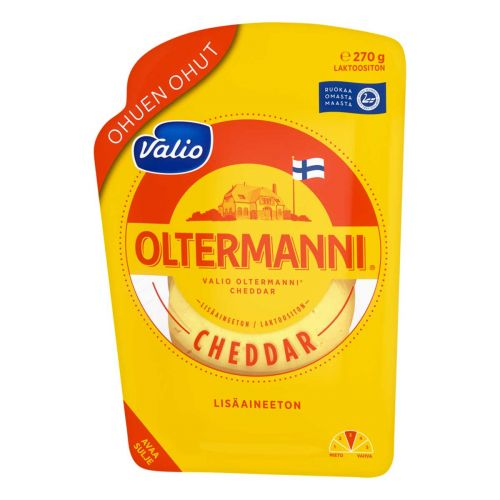 VALIO OLTERMANNI CHEDDAR VIIPALE 270 G