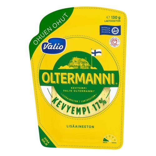 VALIO OLTERMANNI 17% OHUEN OHUT VIIPALE 130 G