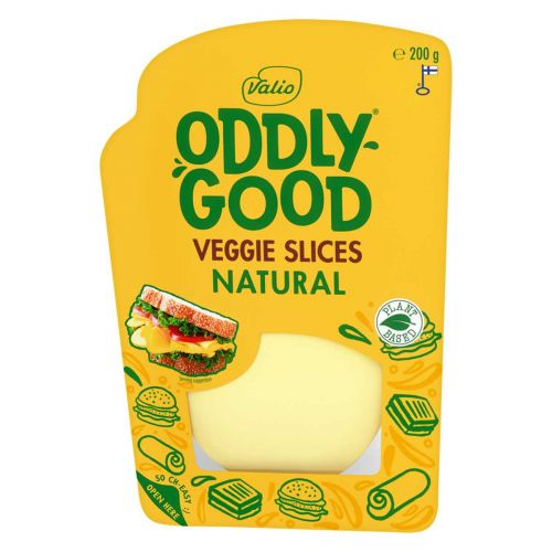 VALIO ODDLYGOOD VEGGIE NATURAL SLICES 200 G