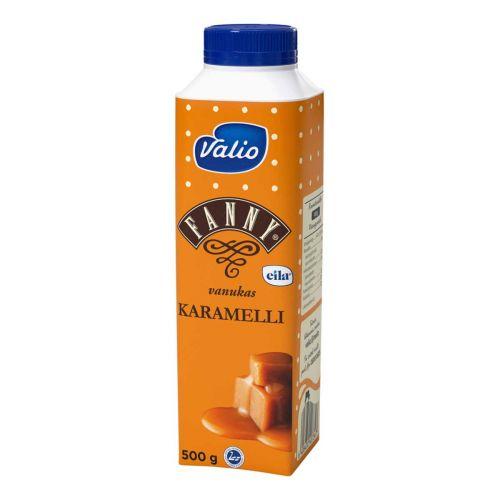 VALIO FANNY VANUKAS KARAMELLI LAKTON 500 G