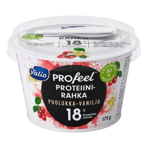 VALIO PROFEEL PROTEIINIRAHKA PUOLUKKA-VANILJA VÄH-HIILIHYDR. LA
