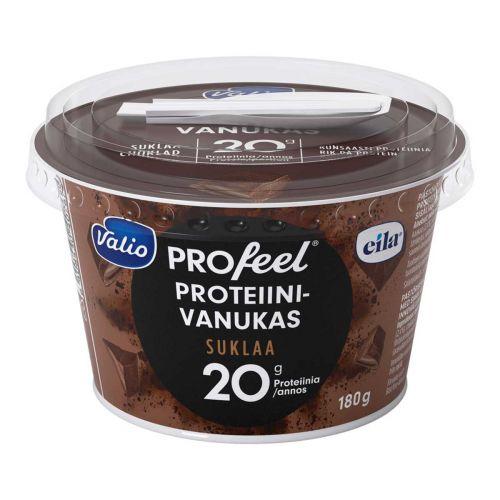 VALIO PROFEEL PROTEIINIVANUKAS SUKLAA LAKTON 180 G