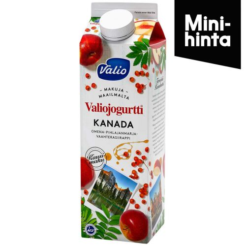 VALIO JOGURTTI KANADA KAUSIMAKU HYLA 1KG