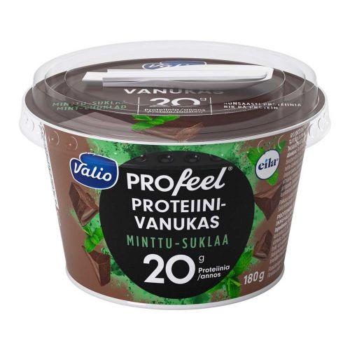 VALIO PROFEEL PROTEIINIVANUKAS MINTTUSUKLAA LAKTON 180 G