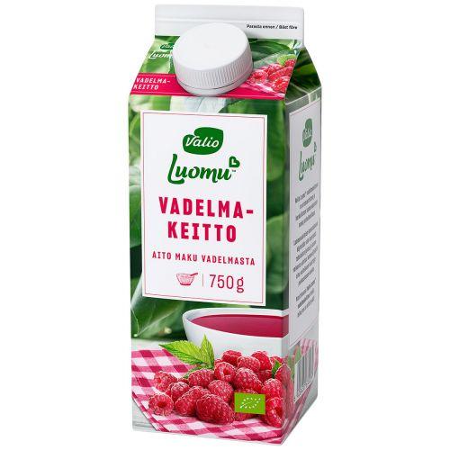 VALIO LUOMU VADELMAKEITTO 750 G