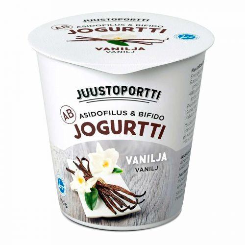 JUUSTOPORTTI AB-JOGURTTI VANILJA 150 G