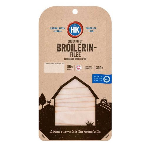 HK OHUEN OHUT BROILERINFILEE 300 G