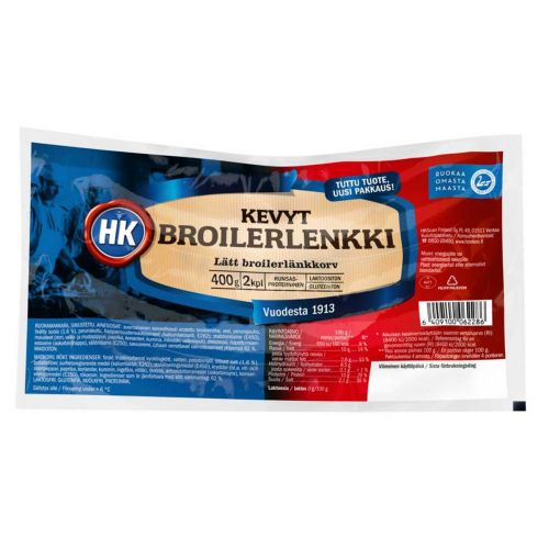 HK KEVYT BROILERLENKKI  400 G