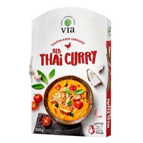 HK VIA RED THAI CURRY 320 G