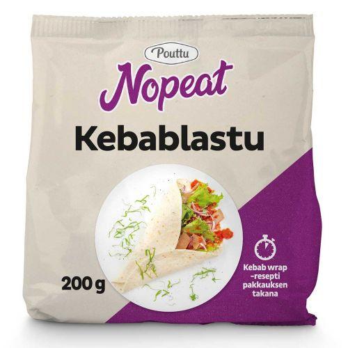 POUTTU NOPEAT KEBABLASTU  200 G