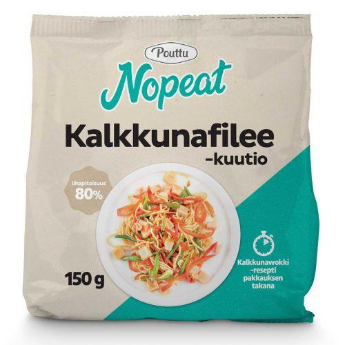 POUTTU NOPEAT KALKKUNAFILEEKUUTIO 150 G