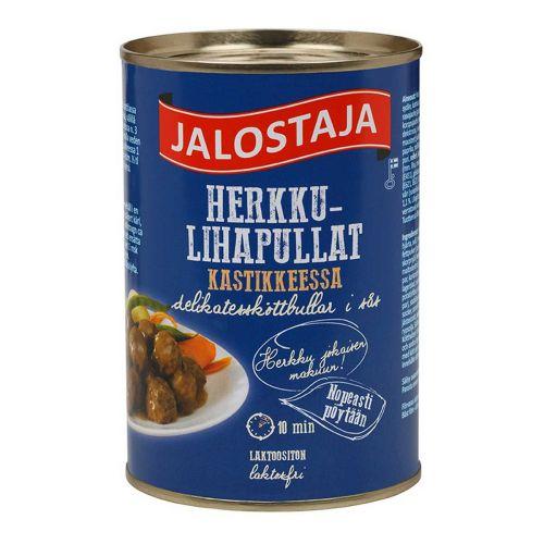 JALOSTAJA HERKKU-LIHAPULLAT KASTIKKEESSA 400 G