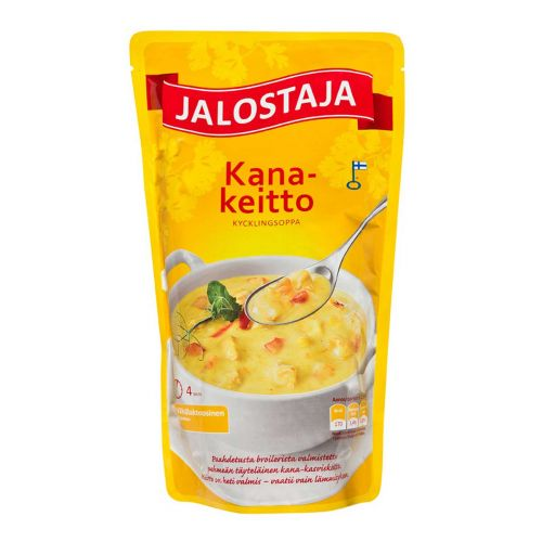 JALOSTAJA KANAKEITTO  550 ML
