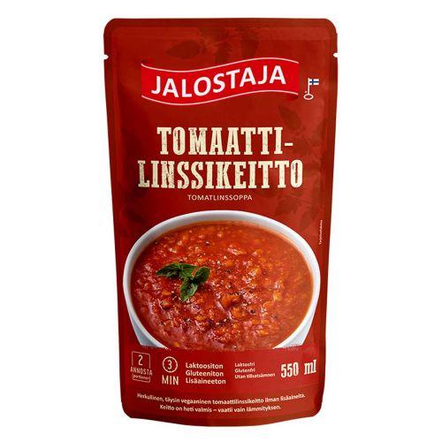 JALOSTAJA TOMAATTI-LINSSIKEITTO 550 ML