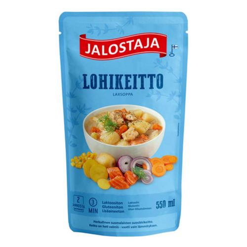 JALOSTAJA LOHIKEITTO  550 ML