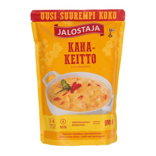 JALOSTAJA KANAKEITTO  900 ML