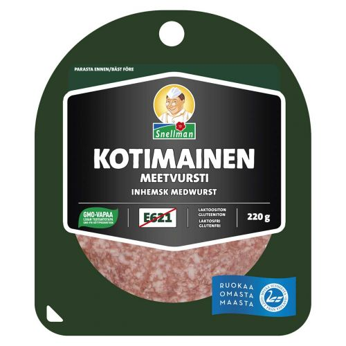 SNELLMAN KOTIMAINEN MEETVURSTI 220G 220 G