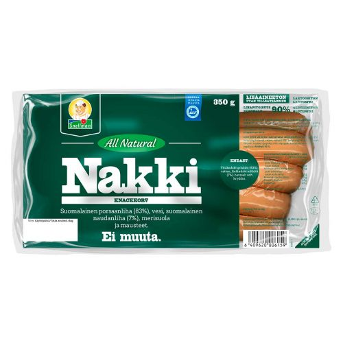 SNELLMAN ALL NATURAL NAKKI 350 G