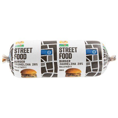 SNELLMAN STREET FOOD BURGERJAUHELIHA 20% 650 G