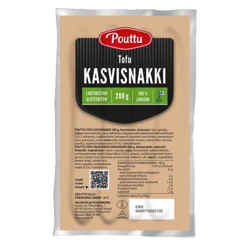 POUTT TOFU KASVISNAKKI 280 G