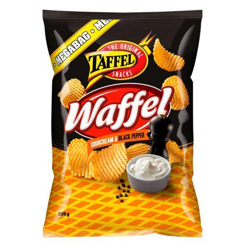 TAFFEL WAFFEL SNACKS SRCRM-BLPEPPER 325 G