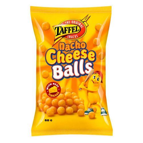 TAFFEL NACHO CHEESE BALLS  60 G
