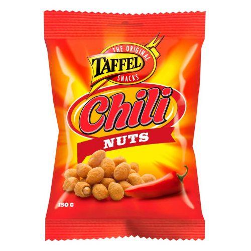 TAFFEL CHILI NUTS  150 G