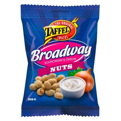 TAFFEL BROADWAY NUTS  150 G