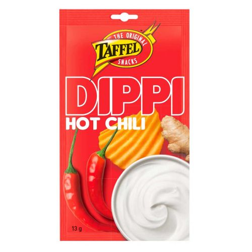 TAFFEL DIPPI HOT CHILI  13 G