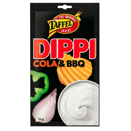 TAFFEL COLA-BBQ DIPPI 16 G