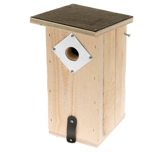 Linnunpönttö huopakatolla kotimainen