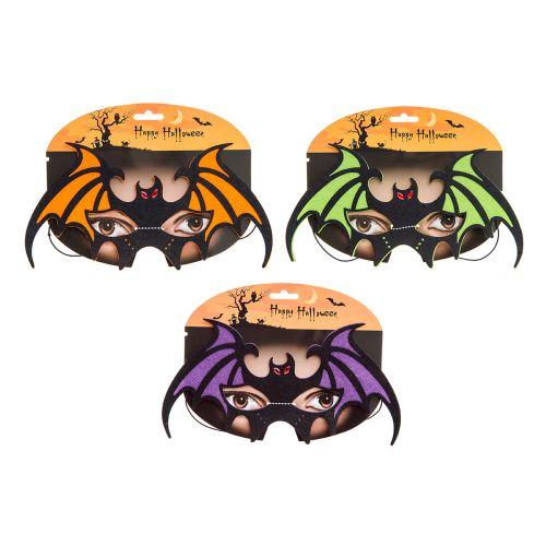 Halloween Huopanaamio Lepakko värilajitelma
