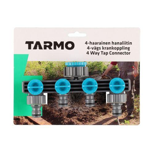 """TARMO 4-HAARAINEN HANALIITIN 3/4"""" - 1"""""""