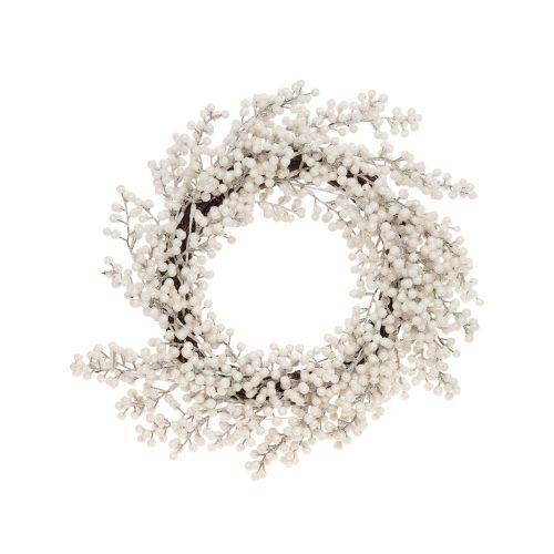 Winterseason Kranssi helmi 29cm valkoinen