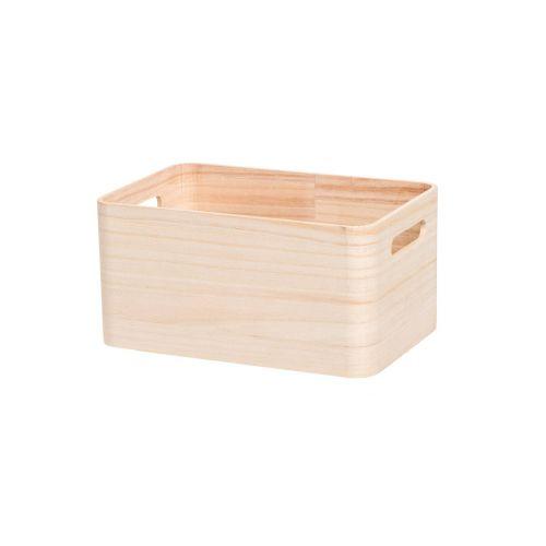 4Living Puulaatikko 24x15,5x11cm