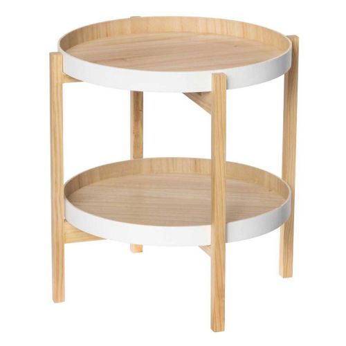 Fanni K pöytä 2-tasoa valkoinen