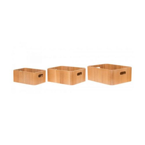 4Living Puulaatikko Ash 29,5x22x11,5cm