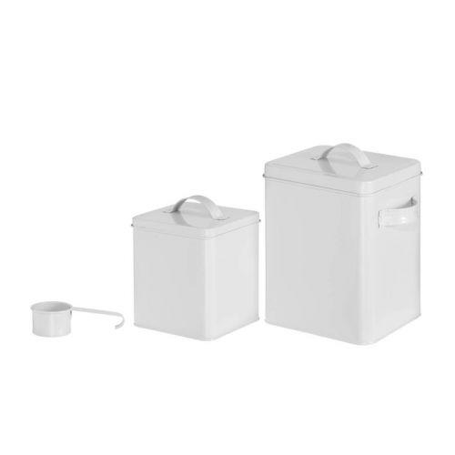 4Living Purkki valkoinen 14x14x18cm