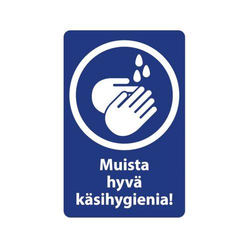 OPASTE MUISTA HYVÄ KÄSIHYGIENIA 20X30 CM