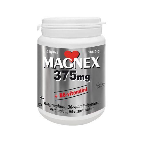MAGNEX 375MG + B6-VITAMIINI  180 KPL