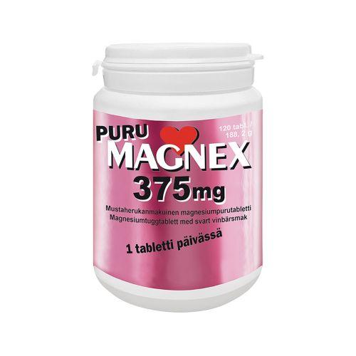 PURU MAGNEX 375MG  120 KPL