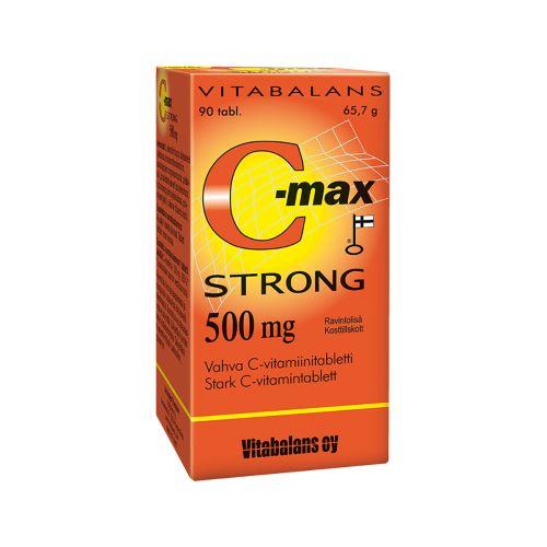 C-MAX STRONG 500MG 90 KPL