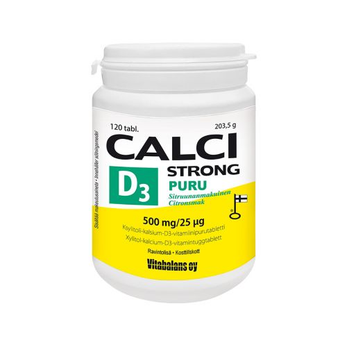 PURU CALCI STRONG  120 KPL