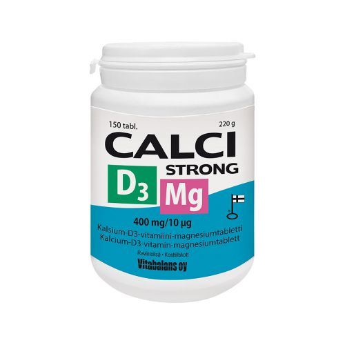 CALCI STRONG +MG+D3  150 KPL