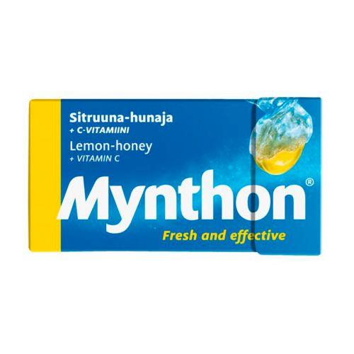 Mynthon rasia sitruuna-hunaja 39g