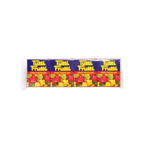 Tutti Frutti hedelmäpastilli 4-pack 68g