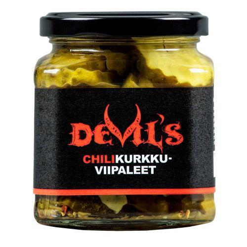 DEVIL'S CHILINEN VIIPALEKURKKU 270/160G 160 G